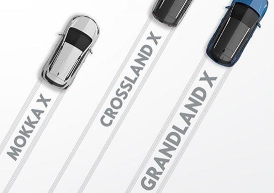 Opel Grandland X, nel 2017 arrivano i crossover