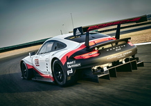 Porsche 911 RSR al Salone di Los Angeles 2016 [Video]