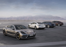 Porsche Panamera Executive al Salone di Los Angeles 2016 [Video]