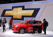 Chevrolet al Salone di Parigi 2012