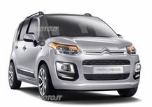 Citroën C3 Picasso restyling