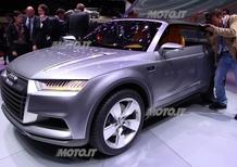 Audi al Salone di Parigi 2012
