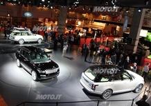 Land Rover al Salone di Parigi 2012