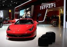 Ferrari al Salone di Parigi 2012