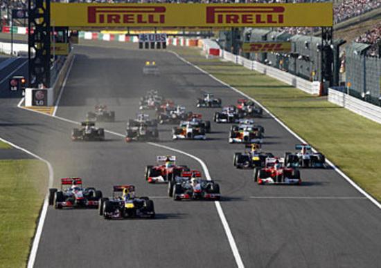 Orari TV F1 GP Giappone