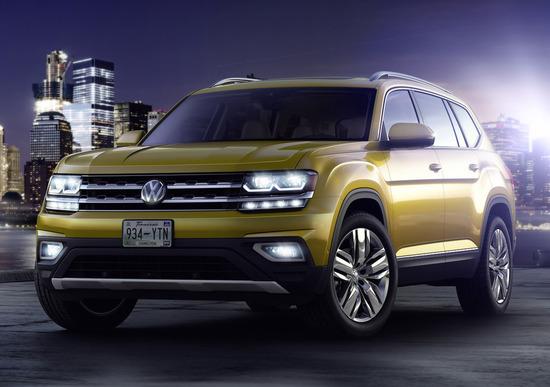 Volkswagen: Atlas sarà venduta anche in Russia