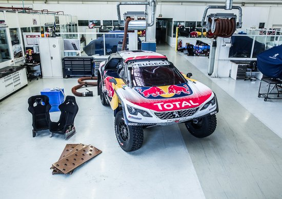 Svelata la nuova livrea della Peugeot 3008 Dakar