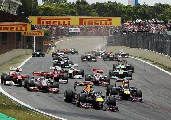 Orari TV F1 GP Brasile