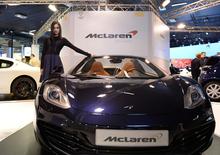 McLaren al Motor Show 2012