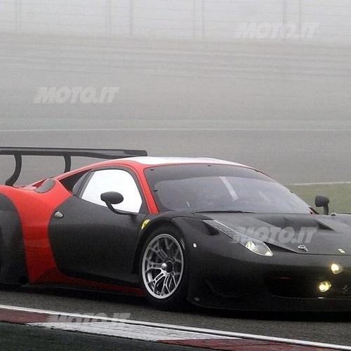 Ferrari 458 Italia GT3 2013: Effettuati I Primi Test Ad