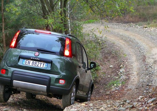 Fiat Panda 4x4 Vs. Fiat Panda 4x4