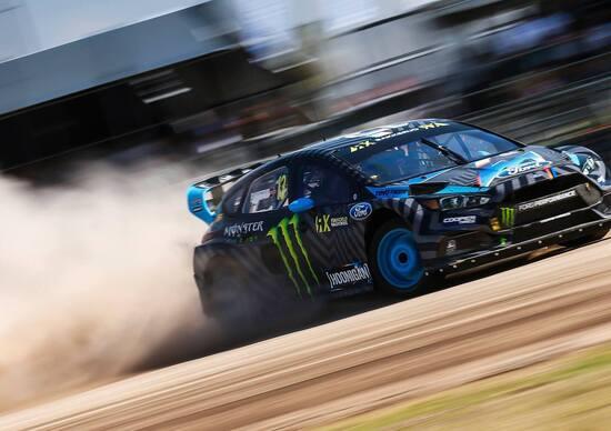 Mondiale Rallycross. Vince Bakkerud (Ford), EKS Audi Campioni Team