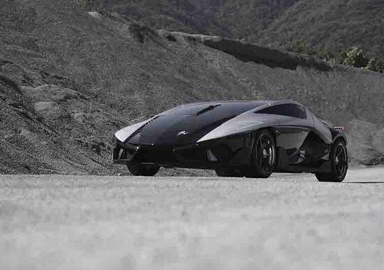 Frangivento Asfanè HyperSportItalia, la prima supercar elettrica italiana al Motor Show 2016