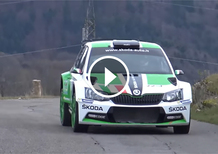 CIR, la Skoda Fabia R5 di Scandola in azione [Video]