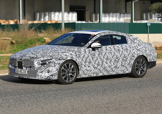New Mercedes CLS 2018, not CLE