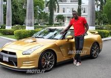 Nissan GT-R: un esemplare su misura per Usain Bolt