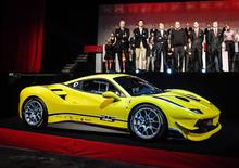 Ferrari 488 Challenge svelata a Daytona [Video]