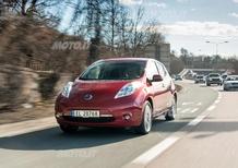 Nissan Leaf: 10.000 unità vendute in Europa