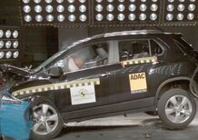 Euro NCAP: 5 stelle per Chervrolet Trax - Video