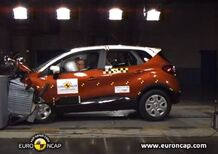Euro NCAP: 5 stelle per Renault CAPTUR - Video