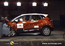 Euro NCAP: 5 stelle per Renault CAPTUR - Video