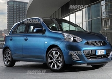 Nissan Micra restyling: le prime immagini