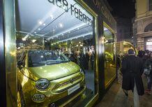 Fiat 500 by Paco Rabanne, un esemplare tutto d'oro