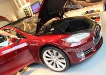 Tesla Model S: la si potrà controllare anche con i Google Glass