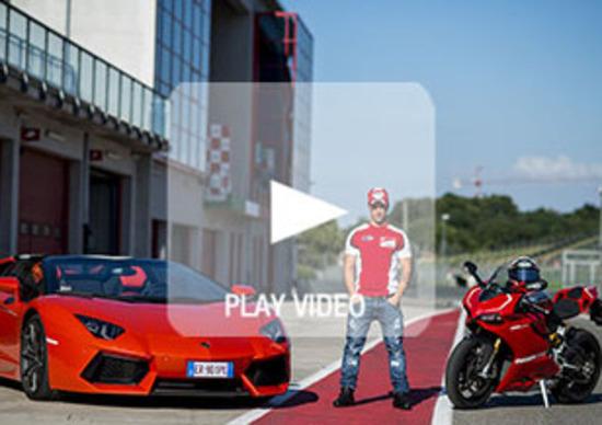 Una Ducati, una Lamborghini e un campione della MotoGP: ecco com'è andata