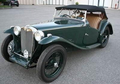 Ta Roadster d'epoca del 1937 a Viadana d'epoca