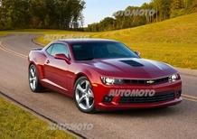 Chevrolet Camaro restyling: dettagli, prezzi e immagini ufficiali