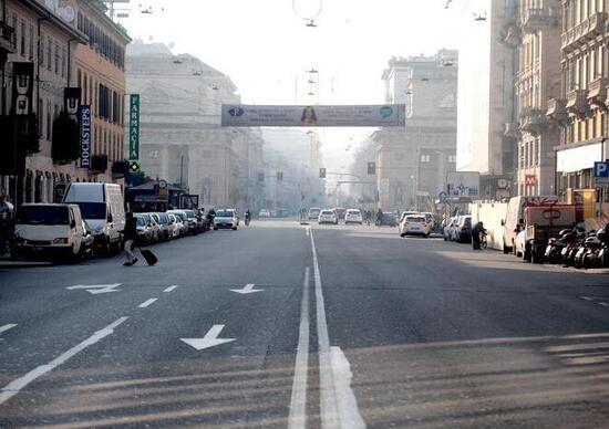 Blocco traffico auto Roma, Milano e Torino dicembre 2016 per polveri sottili