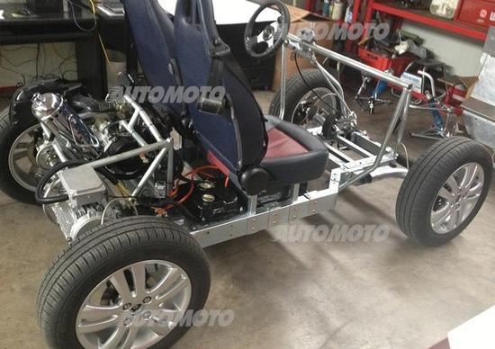 Ampelio Macchi presenta Tabby, il primo scooter ibrido a 4 ruote in open source