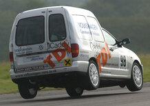 Peter Wyhinny, Seat: «Ho iniziato a correre con un VW Caddy TDI... su una ruota!»