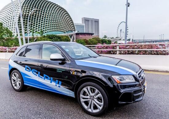 Delphi testerà le flotte autonome anche in Europa e negli USA