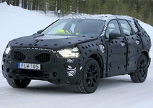 Volvo XC60 spy shots from Sweden: XC90 inspired