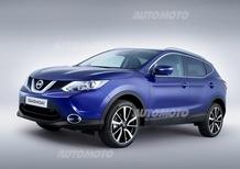 Nuova Nissan Qashqai: foto e informazioni ufficiali