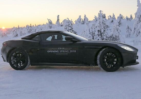 Aston Martin DB11 Volante: nuove immagini
