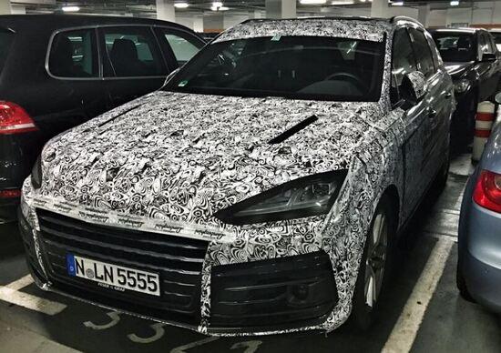 Lamborghini Urus: il SUV scovato in aeroporto a Monaco?