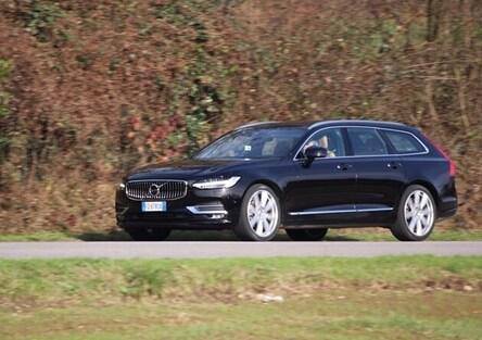 Volvo V90 | Test drive #AMboxing