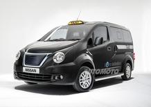 Nissan NV200 London Taxi: ecco il nuovo cab