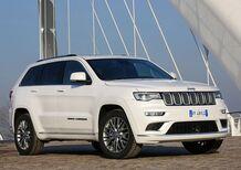 Jeep Grand Cherokee 2017: ecco il listino