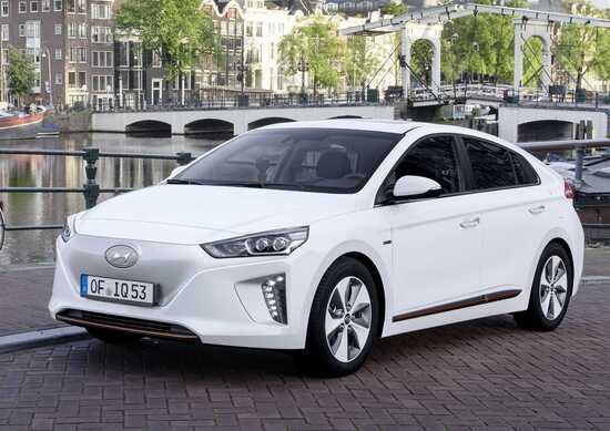 Hyundai Ioniq Electric: i prezzi di listino