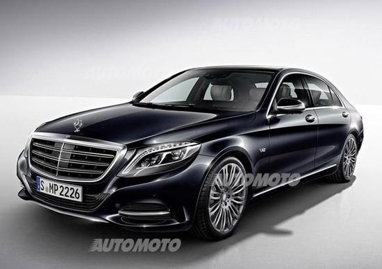 Nuova Mercedes-Benz Classe S 600: cuore a 12 cilindri
