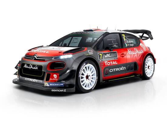 Citroen C3 WRC: svelata in anticipo la vettura 2017