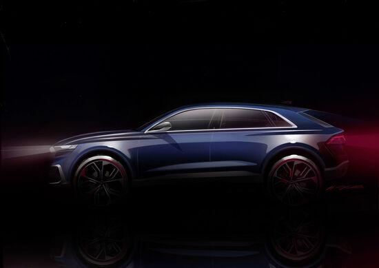 Audi Q8 Concept: il mega SUV-coupé arriva a Detroit
