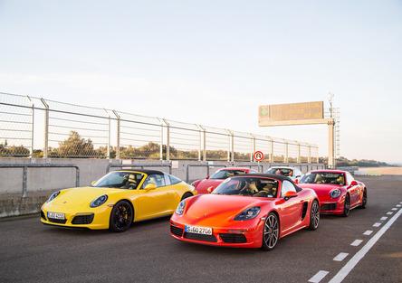 Test Porsche. Nardò Technical Center