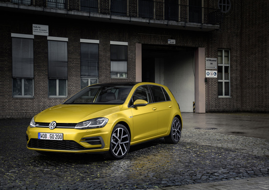 Volkswagen Golf restyling 2017, nuove varianti in Germania