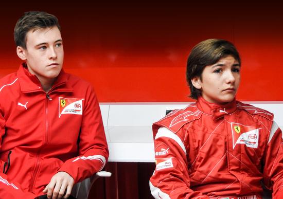 Armstrong e Fittipaldi nuovi piloti della Ferrari Driver Academy