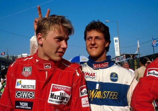 Schumacher e Hakkinen: quel primo duello in Formula 3 a Macao